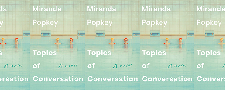 the book cover for Topics of Conversation