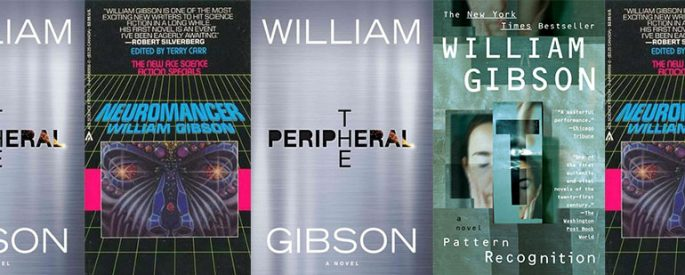 side by side series of various novels by william gibson