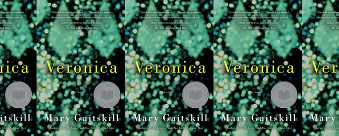 side by side series of the cover of Gaitskill's Veronica