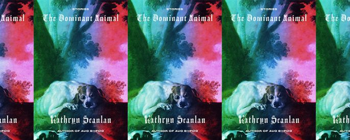 side by side series of the cover of the Dominant Animal by Kathryn Scanlan