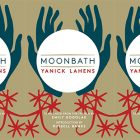 side by side series of the cover of Moonbath