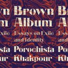 side by side series of the cover of Brown Album