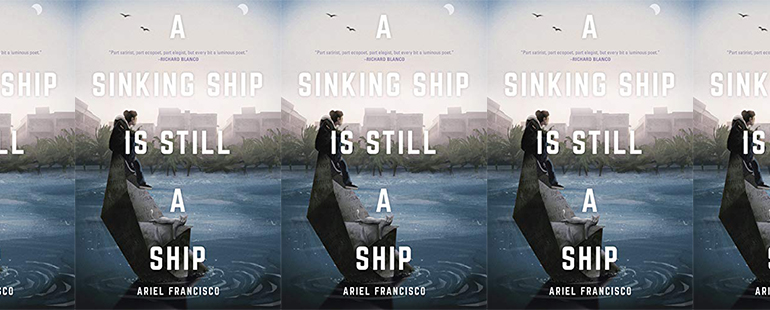 side by side series of the cover of A SinkingShip Is Still a Ship
