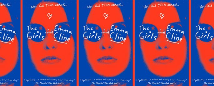 side by side series of the cover of Emma Cline's The Girls