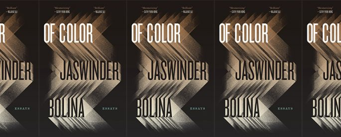 side by side series of the cover of Of Color by Jaswinder Bolina