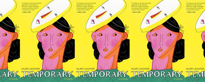 side by side series of the cover of Temporary