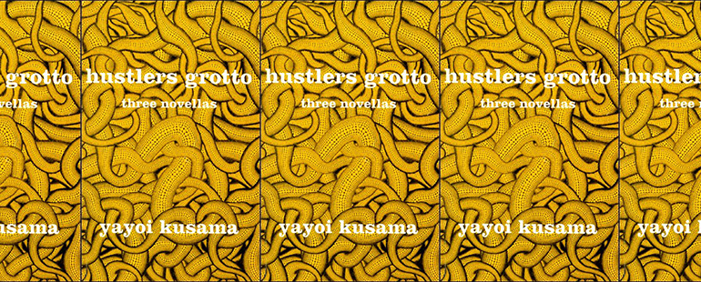 side by side series of the cover of hustlers grotto: three novellas
