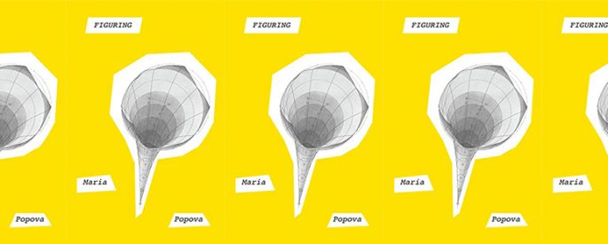 side by side series of the cover of Popova's Figuring