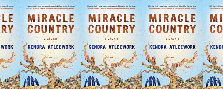 the book cover for Miracle Country