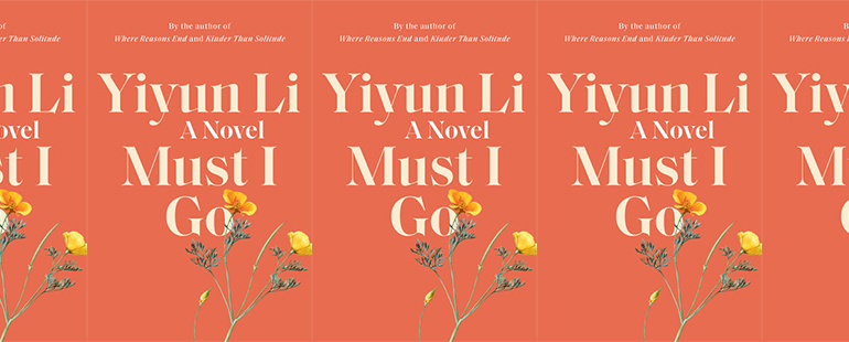 side by side series of the cover of Must I Go