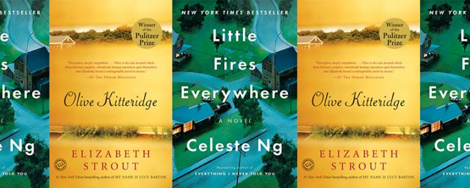 side by side series of the covers of Little Fires Everywhere and Olive Kitteridge