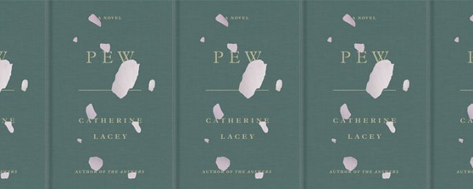 side by side series of the cover of Lacey's Pew