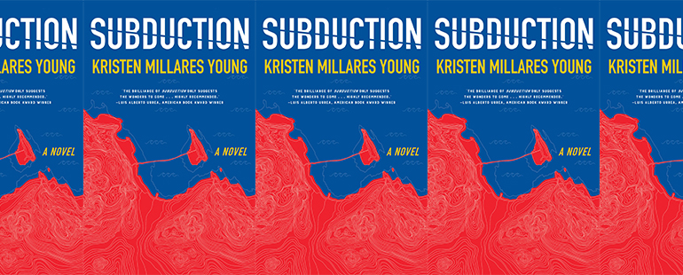 side by side series of the cover of Subduction