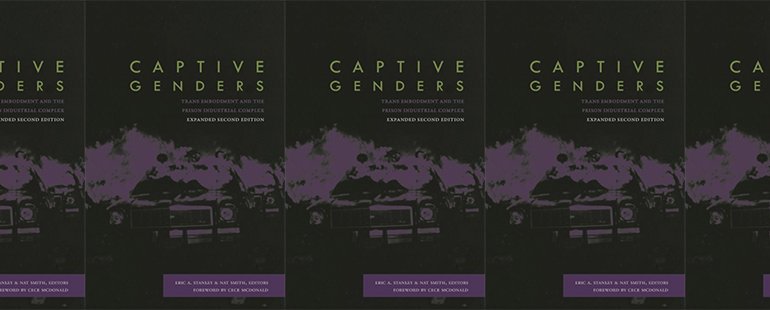 side by side series of the cover of Captive Genders