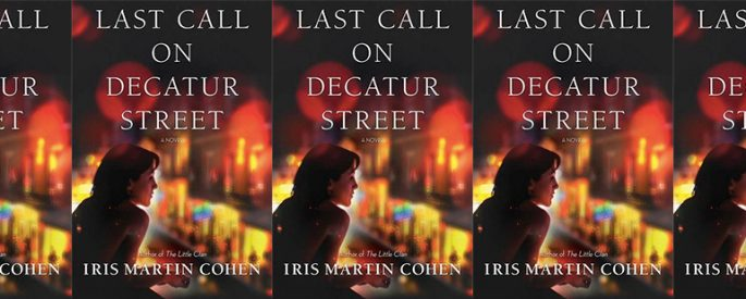 side by side series of the cover of Last Call on Decatur Street