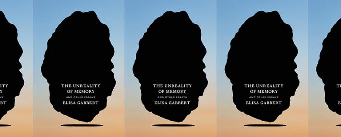 side by side series of the cover of the Unreality of Memory