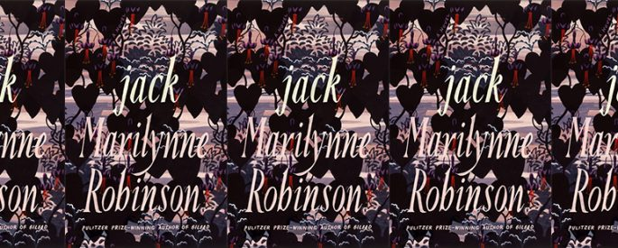 side by side series of the cover of Jack by Marilynne Robinson