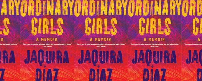 side by side series of the cover of Ordinary Girls by Jaquira Díaz