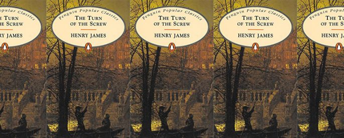side by side series of the cover of James's Turn of the Screw