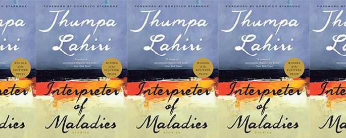 side by side series of the cover of Interpreter of Maladies