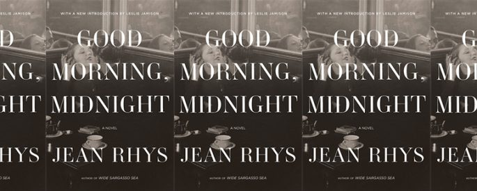 side by side series of the cover of Good Morning, Midnight