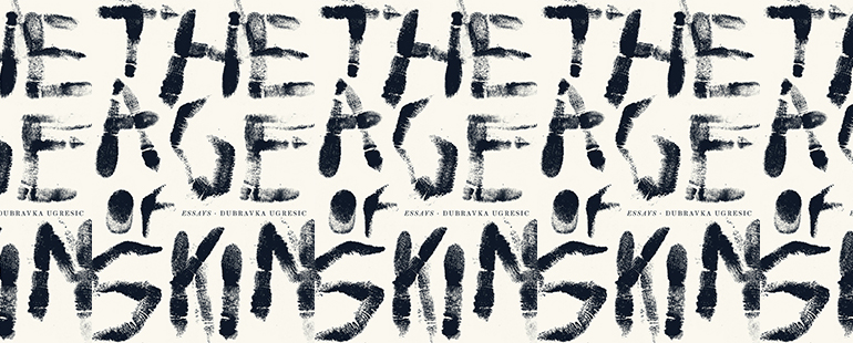 side by side series of the cover of The Age of Skin