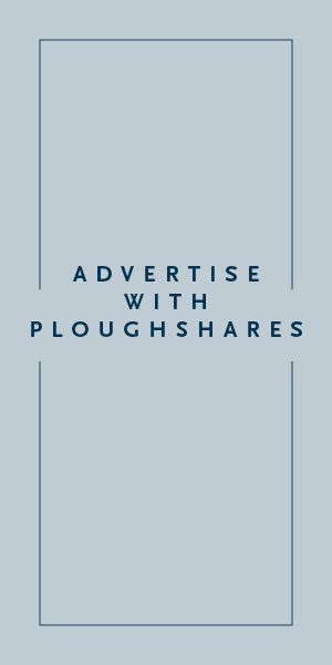 Advertise with Ploughshares