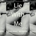 side by side series of the cover of Lie with Me