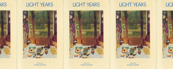 side by side series of the cover of Light Years
