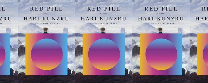 side by side series of the cover of Red Pill