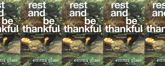 side by side series of the cover of Rest and be Thankful