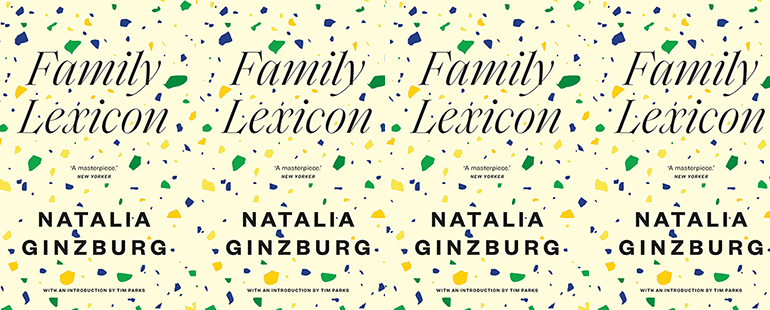 side by side series of the cover of Family Lexicon