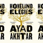 the book cover for Homeland Elegies