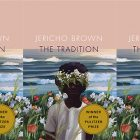 side by side series of the cover of Jericho Brown's The Tradition