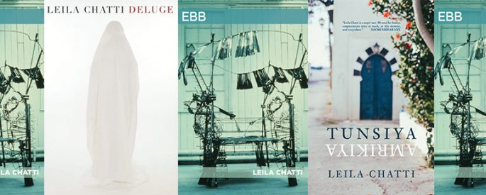 side by side series of the various covers of books by Leila Chatti mentioned in blog post