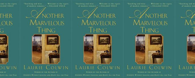 side by side series of the cover of Colwin's Another Marvelous Thing