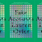 side by side series of the cover of Fake Accounts