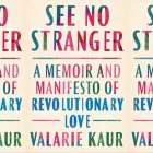 side by side series of the cover of See No Stranger by Kaur