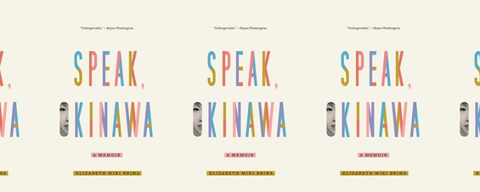 side by side series of the cover of Speak, Okinawa