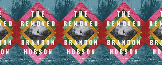 side by side series of the cover of The Removed