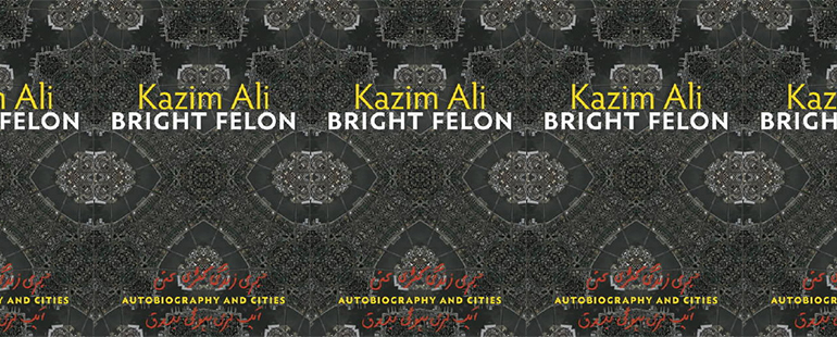 side by side series of the cover of Bright Felon