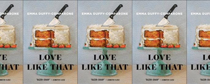 side by side series of the cover of Love Like That