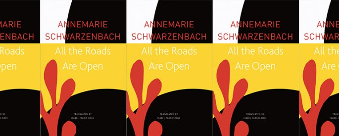 side by side series of the cover of All the Roads Are Open