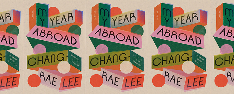 side by side series of the cover of My Year Abroad