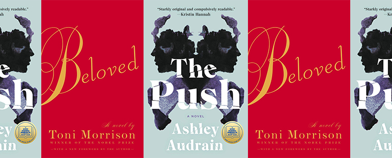 side by side series of the covers of Beloved and The Push