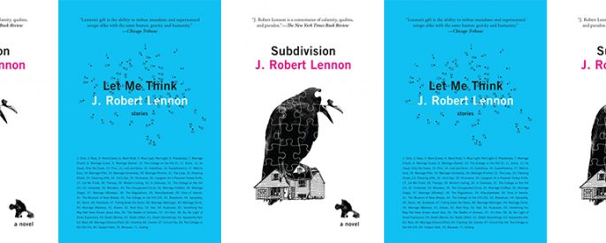 side by side series of the covers of Lennon's two books