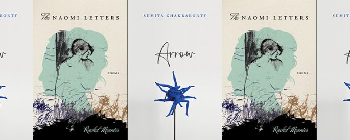 covers of The Naomi letters and Arrow in a side by side series