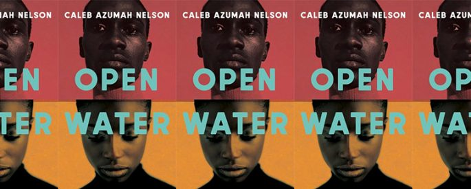 side by side side series of the cover of Open Water