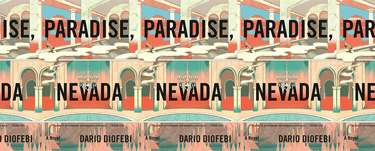 side by side series of the cover of Paradise Nevada