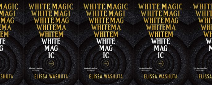 the cover of White Magic in a side by side series
